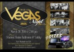 Gamble your luck at Vegas Night