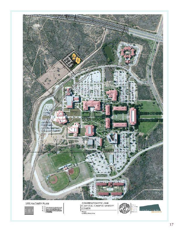 Building a Campus Ministry Church and Center at TAMIU