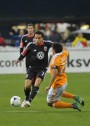 Santos scores twice in United win over the Houston Dynamos