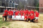 Tau Kappa Epsilon holds third annual volley for the kids